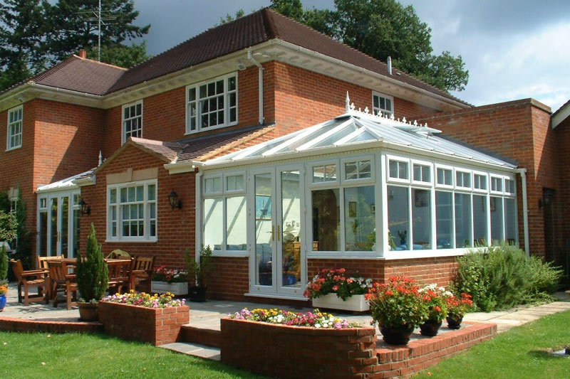 new and beautiful conservatory
